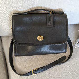 Vintage Coach Shoulder Bag with Hand Tag